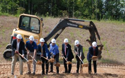 HYDAC Groundbreaking Ceremony