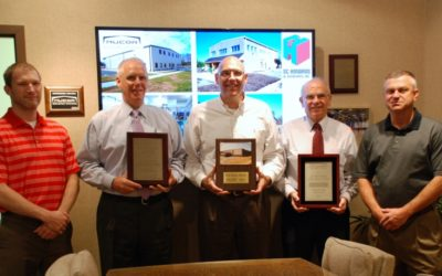 SC Hondros honored with awards by Nucor Building Systems