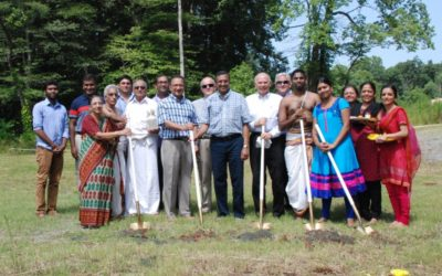 Trimurti Temple Groundbreaking