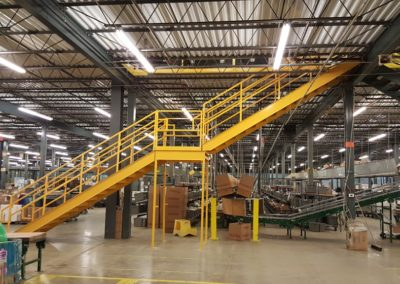 TJ Maxx Distribution Center – Mezzanine Modifications