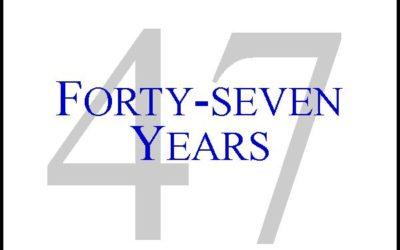 47th Anniversary