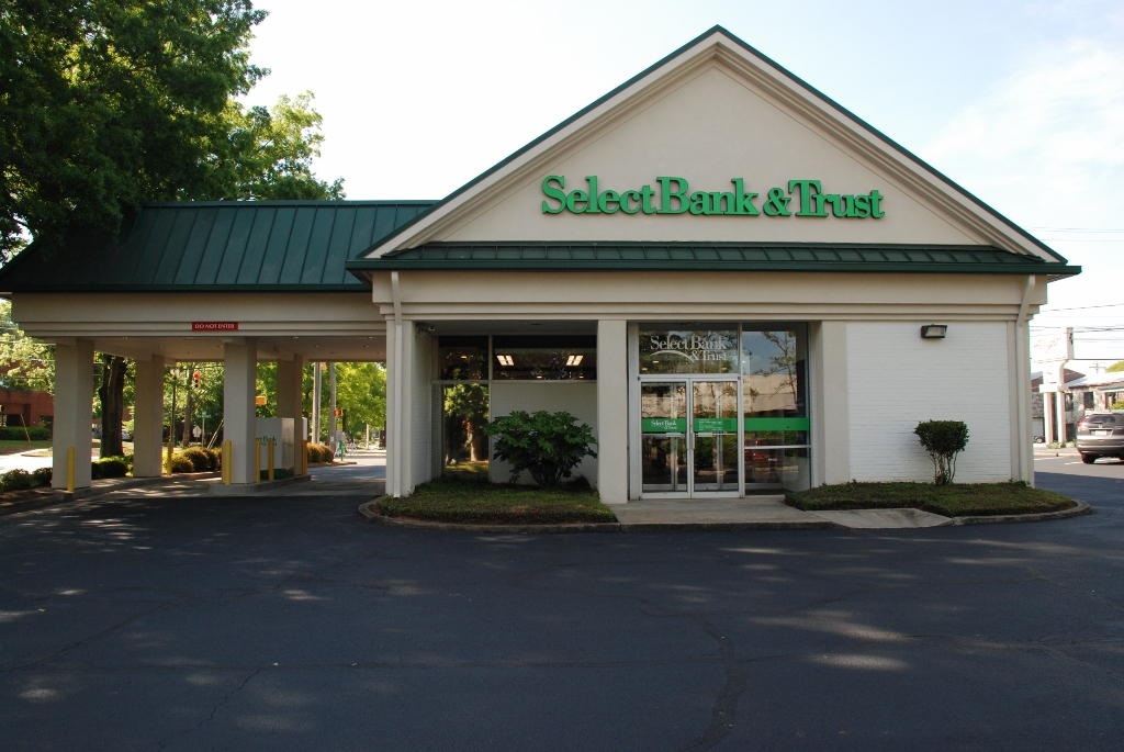 Recently Completed: Select Bank Renovations | SC Hondros
